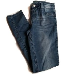 Justice Simply Low Jegging Girls Size 14 Dark wash